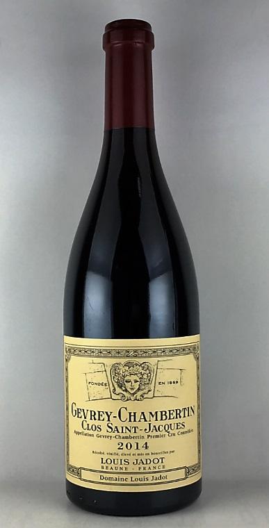 ルイ・ジャド・ジュヴレ・シャンベルタン プルミエ・クリュ クロ・サン・ジャック 2014 750ml 赤ワイン