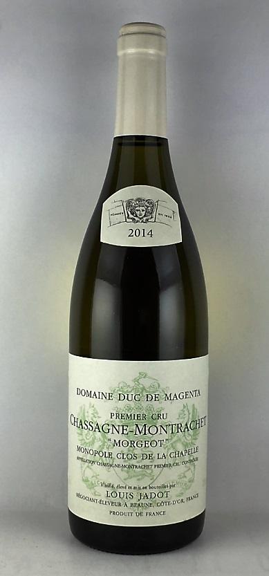 シャサーニュ・モンラッシェ 1er クリュ モルジョ クロドラシャベル 2014 750ml 白ワイン