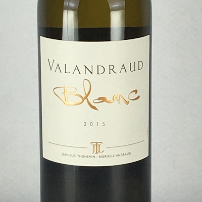 白ワイン ボルドー ヴァランドロー ブラン 2015 AOCボルドー 750ml