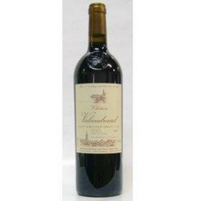 赤ワイン ボルドー シャトー・ド・ヴァランドロー 2006 サンテミリオン 750ml