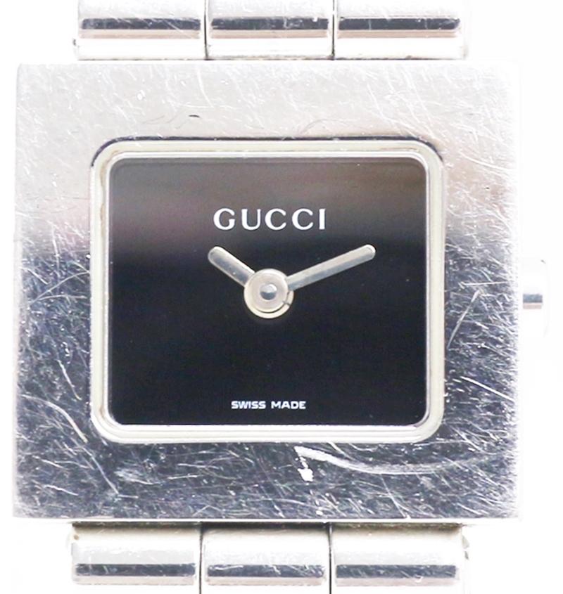 【時計】 GUCCI グッチ 6000L クォーツ レディース腕時計 2019.5.9 電池交換済み 付属品有り 【中古品】