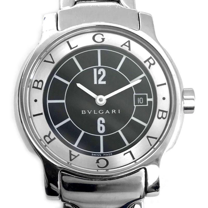 【時計】BVLGARI ブルガリ ST29S ソロテンポ Solotempo レディース SS 電池交換済【中古】