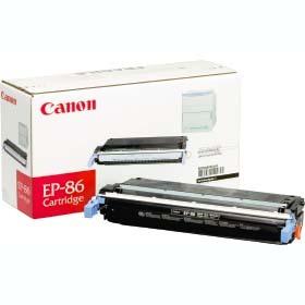 キャノン CANON対応 カラーレーザープリンタ用 トナーカートリッジ純正 EP-86(B) ブラック4960999205397