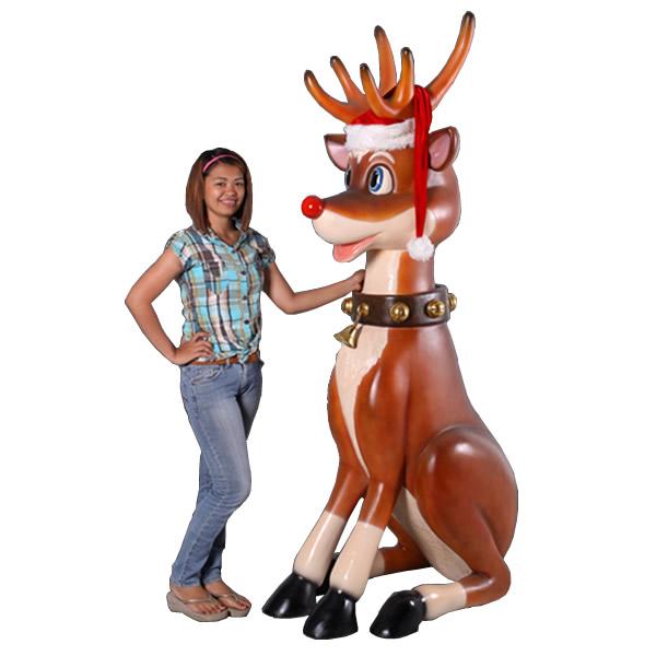 こっけいな大トナカイ / Funny Reindeer 7ft