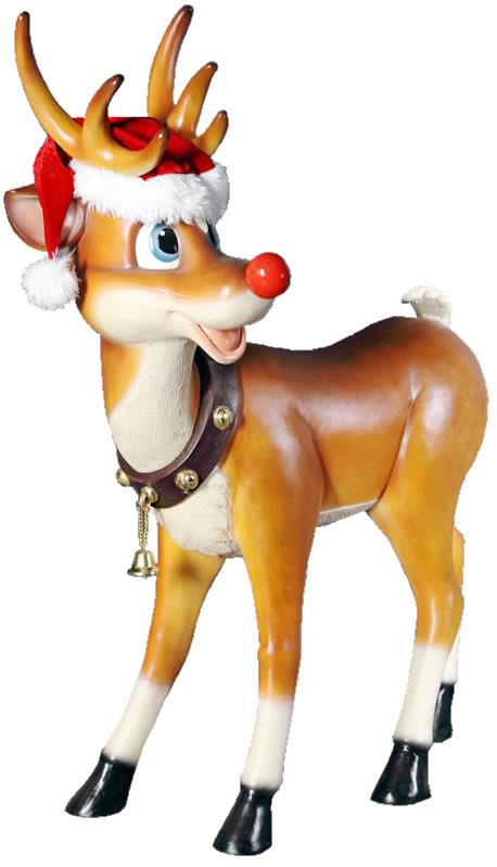 振り向くトナカイ / Standing Reindeer