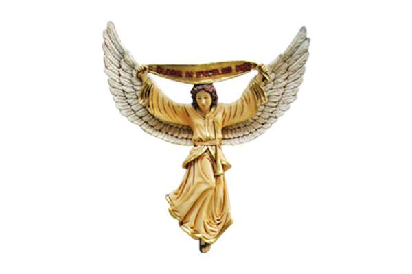 インテリア置物 装飾品キリスト降誕 - 天使(カラー仕上げ) / The Nativity - Angel
