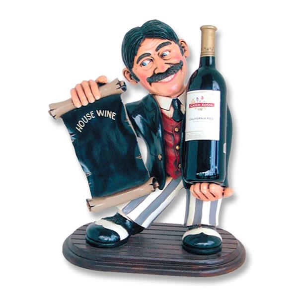 ワインラック ワインホルダー インテリア置物ワインラック ホルダー「Mr.ダンディのおすすめ」 frHFWIW