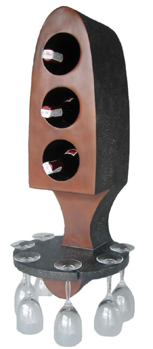 ワインラック ワインホルダー インテリア置物ワインラック ホルダー ウォールナット仕上げ!「マイ コレクション」在庫限り