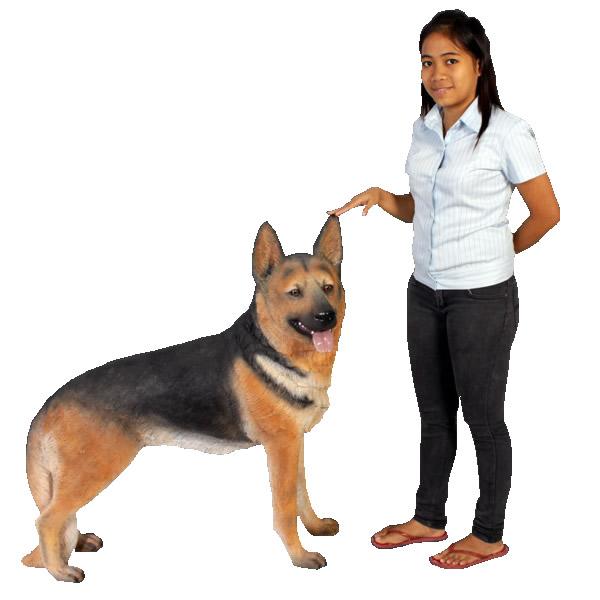 イヌ置物置物動物インテリア犬シェパード / German Shepherd