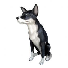 置物動物インテリアイヌ置物インテリア 動物犬羊の番犬 牧羊犬 テーマは凛 / Sheep Dog