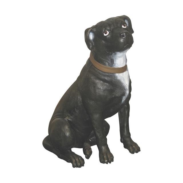 イヌ置物動物インテリア犬誇り高きテリア / Staffordshire Terrier fr080071