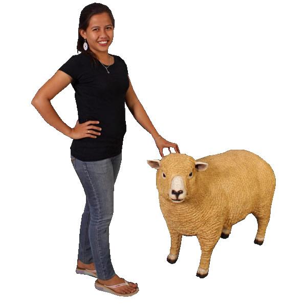 羊置物置物動物インテリア子ヒツジライ麦畑の子羊 / Ryeland Ewe (Not in Aus./ Benelux)