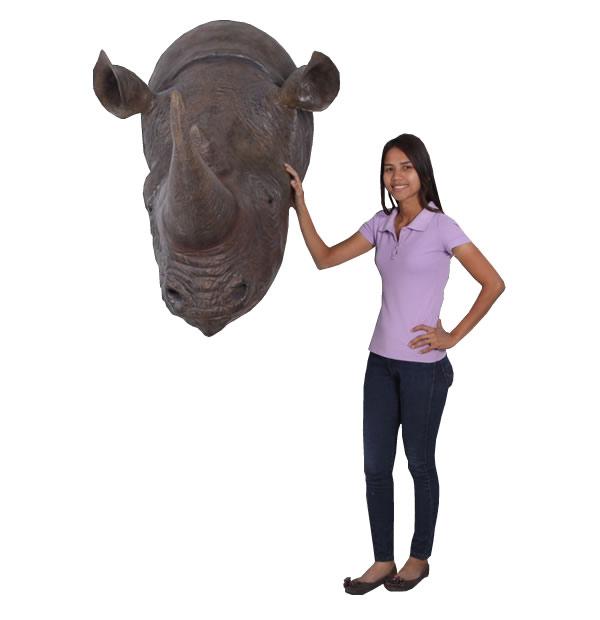 サイの頭 / Rhinoceros Head