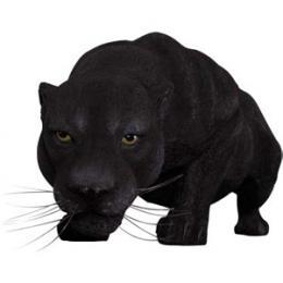 置物動物インテリア置物インテリア 動物ヒョウ黒豹の跳躍 / Black Panther