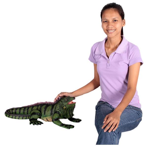 動物オブジェ イグアナ / Iguana 24