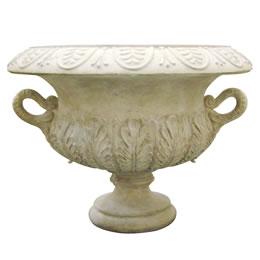インテリア置物 装飾品プランターオブジェ アカンサス模様の壺型プランター / Acanthus Urnギリシャの国花でもあるアカンサスをモチーフにしたプランター。ハーブを敷き詰めるのにおすすめ