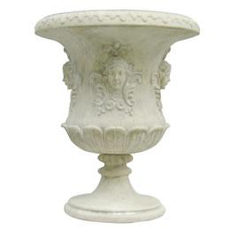 インテリア置物 装飾品プランターオブジェ 女神の壺型プランター / Flora Urnローマ神話に出てくる花の女神を象った壺型のプランター