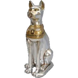 エジプトオブジェ 猫の女神(120cm) / CAT GODDESS