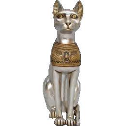 お取り寄せ期間2ヶ月要エジプトオブジェ 猫の女神(75cm) / CAT GODDESS