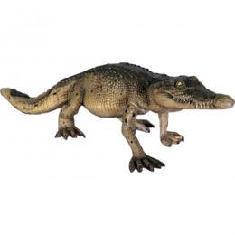 置物インテリア 爬虫類ワニ 動物オブジェ 歩くクロコダイル・120cm / Crocodile Walking 4ft.fr080112