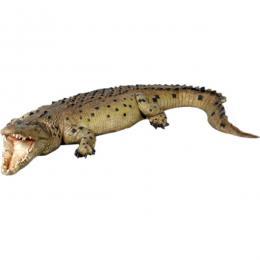 置物インテリア 爬虫類ワニ 動物オブジェ クロコダイル・18フィート / Crocodile 18ft.