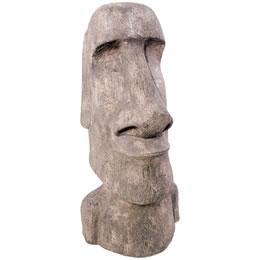 イースター島のモアイ像 ストーン風 置物/ Easter Island Moai