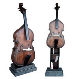 CD/DVDホルダーオブジェ 「ヴァイオリンの響き」