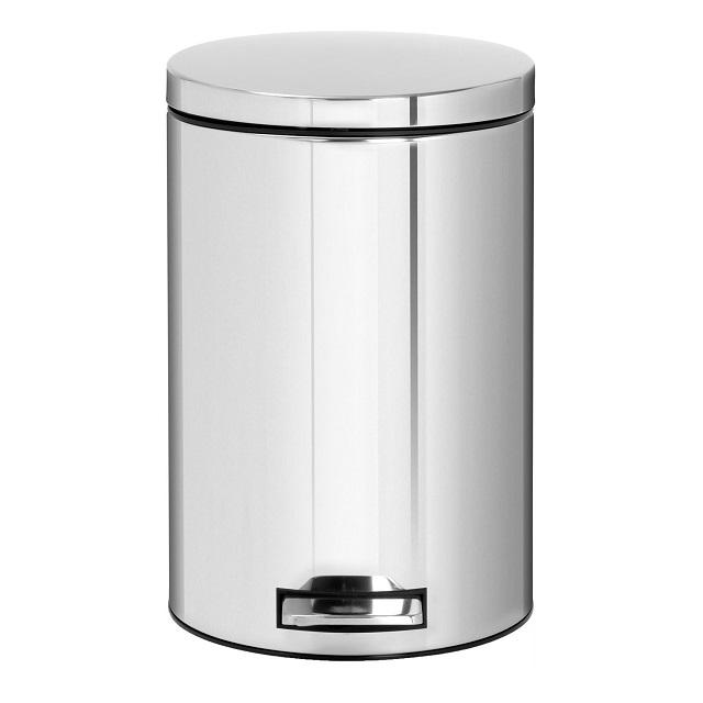 ゴミ箱おしゃれキッチンブラバンシアbrabantiaダストボックスペダルビン モーションコントロール 12L クローム 479489