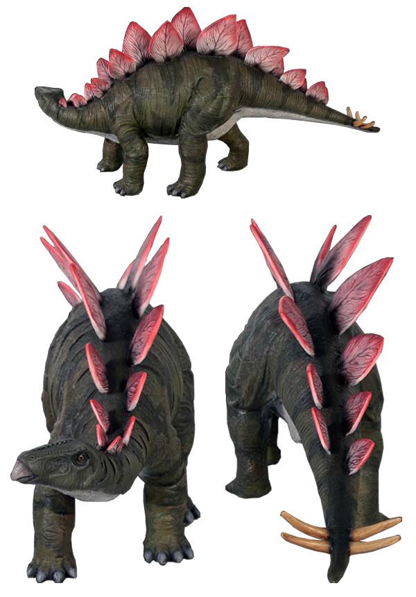 置物インテリア 恐竜小型版・ステゴサウルス / Definitive Stegosaurus