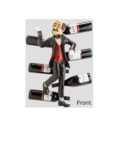 【送料込】 ワインラック ワインホルダー インテリア置物ワインラック ホルダー 「ソムリエの選択」, フキアゲマチ:b314bb73 --- canoncity.azurewebsites.net
