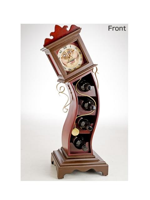 ワインラック ワインホルダー インテリア置物ワインラック ホルダー 「時計仕掛けのフォルダー」