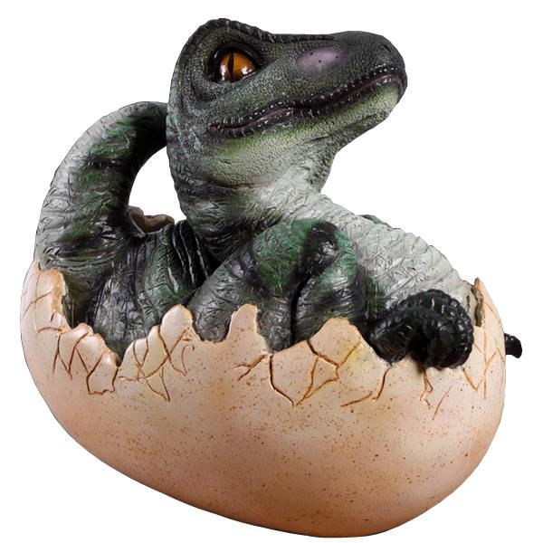 恐竜卵置物インテリア タマゴ孵化するT-Rex / Baby T-Rex Hatching  fr140034