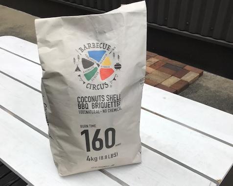 BBQ用専用ヤシガラ成形炭 内容量4kg×10袋(40kg) 安定火力 長燃焼時間 ココナッツの殻を再利用した地球に優しく、自然にも優しく、人にも優しい商品【送料無料】