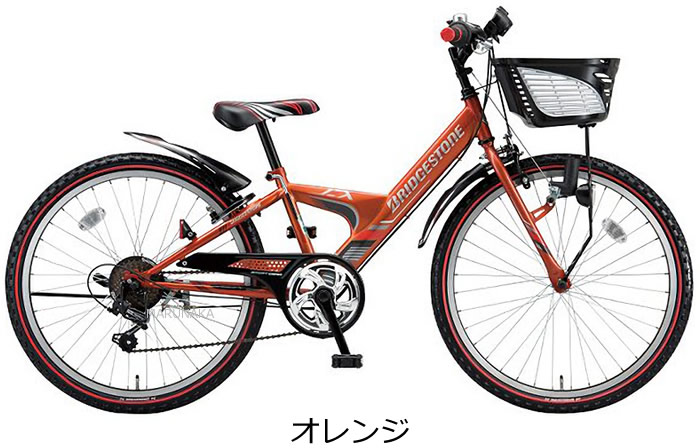 """Bridgestone express junior 20-inch 6-transmissions with cycle cockpit 'CI deck""""with model EX065 speedometer mounted large force of Y-frame adoption juniormountain Bridgestone classic popular kids bikes with 20-6-gear"""