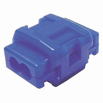 10袋までレターパックライト対応可 配線分岐コネクター 通信販売 青 10個入 2020 新作 CL-1814T