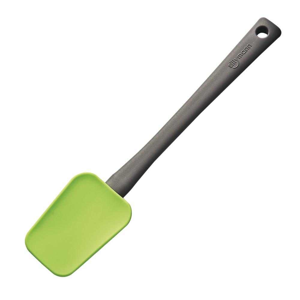 新着 プラスチック原料と違うため溶けません シリコンクッキングツール スプーンターナー グリーン S 国内正規品