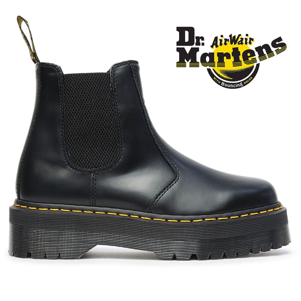really comfortable skate shoes new list Doctor Martin Dr.Martens side Gore boots 2976 QUAD regular article Chelsea  boot thickness bottom 24687001 2976 QUAD RETRO HARDWARE