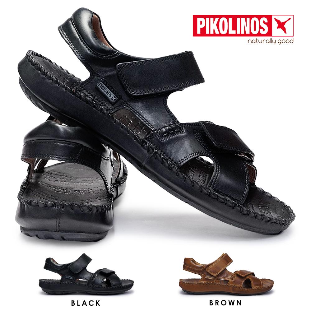 【あす楽】ピコリノス PIKOLINOS メンズ サンダル PK-291 06J-5818 タリファ 本革 カジュアルシューズ TARIFA