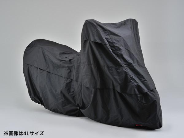 デイトナ ブラックカバー ウォーターレジスタント 耐水バイクカバー <LL-BOXサイズ> 96673