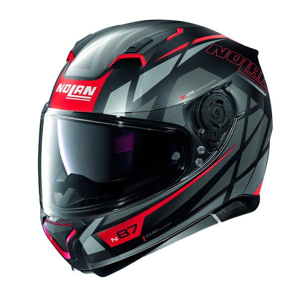 NOLAN 99321 NOLAN N87 オリジナリティ フラットブラック/69 M(頭囲57-58cm) フルフェイスヘルメット
