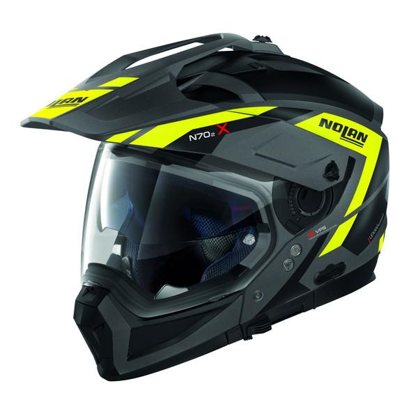 NOLAN 99343 NOLAN N70-2X グランデスアルプス フラットグレイ/23 M(頭囲57-58cm) アドベンチャークロスオーバーヘルメット