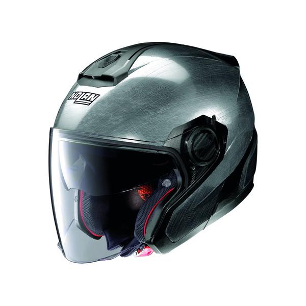 NOLAN  99384 NOLAN N40-5 ソリッド スクラッチドクローム/8 XL(頭囲61-62cm) ジェットヘルメット