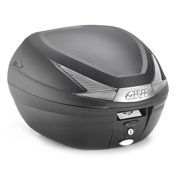 GIVI 99899 GIVI リアボックス 33L 未塗装ブラック TECHスモークレンズ モノロック B330シリーズ B330NT