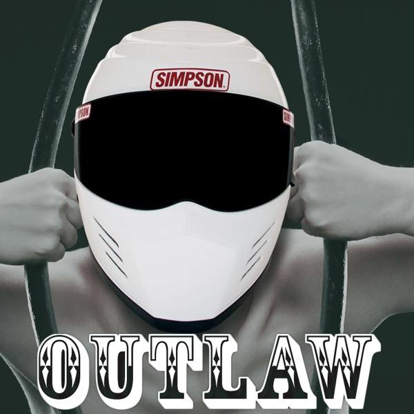 シンプソン アウトロー バイク用 フルフェイスヘルメット SIMPSON OUTLAW