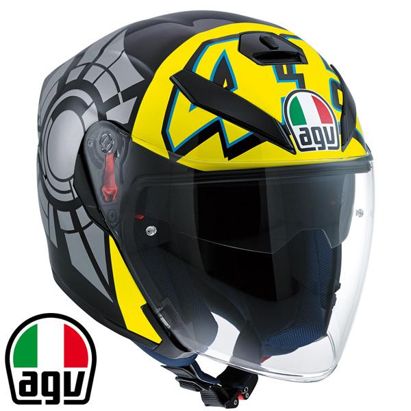 AGV K-5 JET ジェットヘルメット 【WINTER TEST 2012:Lサイズ】 SG規格品/日本仕様