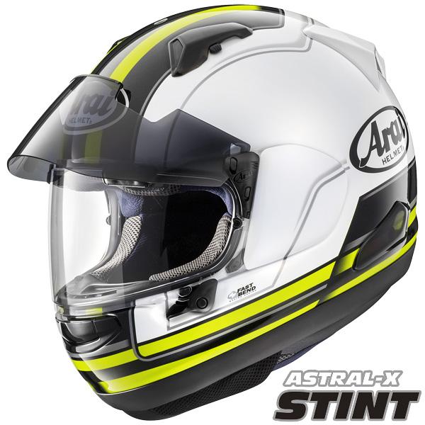アライ ASTRAL-X STINT (アストラルX スティント) フルフェイスヘルメット 【イエロー Mサイズ】