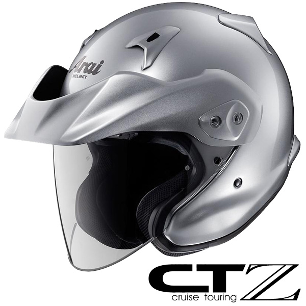 アライ CT-Z ジェットヘルメット 【アルミナシルバー XLサイズ】