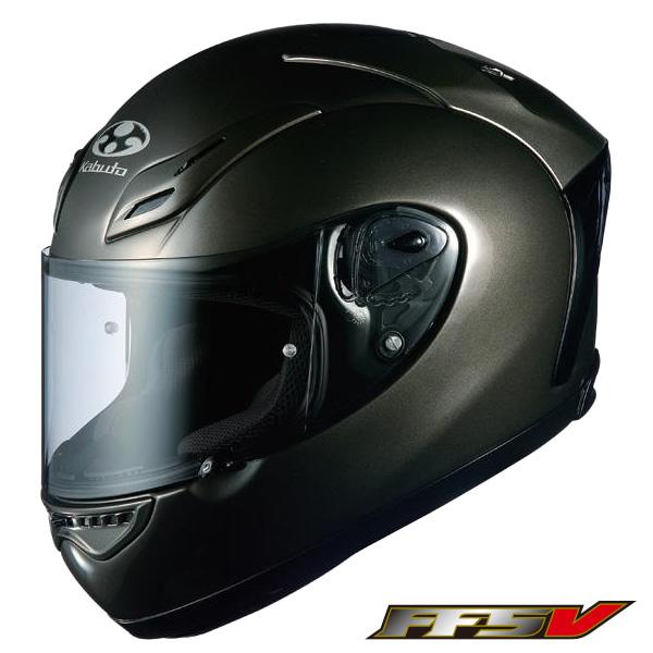 OGK FF-5V フルフェイスヘルメット 【ロイヤルガンメタ Mサイズ】