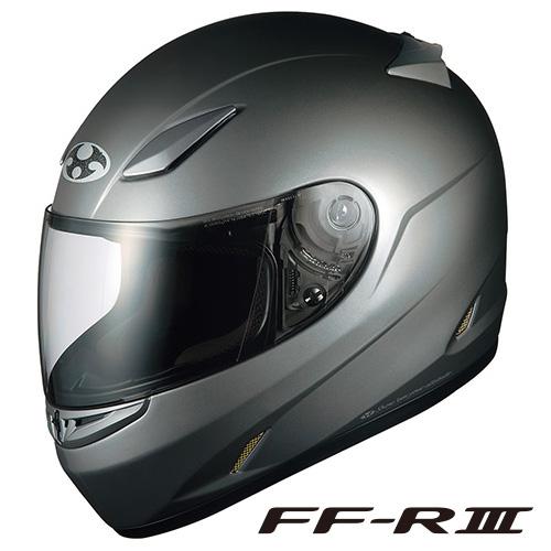 OGK FF-R3 フルフェイスヘルメット 【ガンメタ Lサイズ】