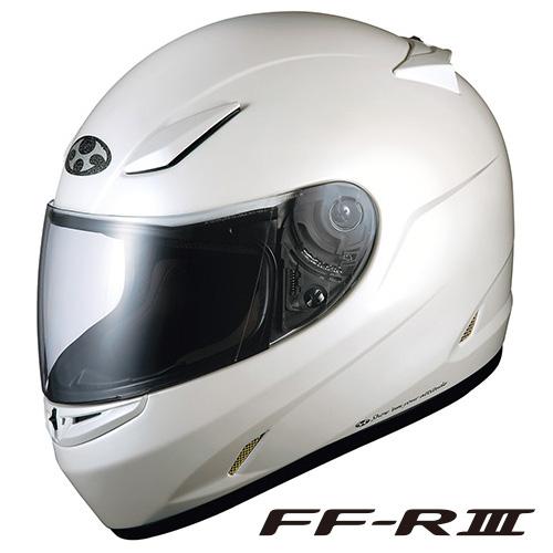 OGK FF-R3 フルフェイスヘルメット 【パールホワイト XLサイズ】